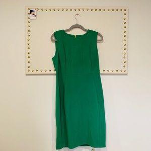Calvin Klein Green Zip Up Dress